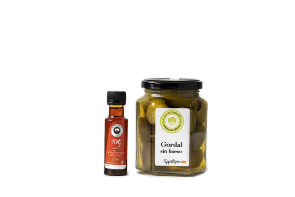 Gordal Deshuesada Salsa hot chili